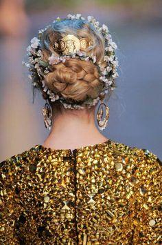 Dolce & Gabbana hair trend