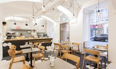 strudls 1070 - siebensterngasse Vienna Restaurant, Dining Chairs, Dining Table, Lokal, Around The Worlds, Modern, Furniture, Home Decor, Restaurants