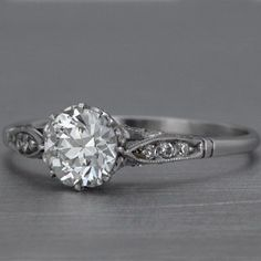 antique engagement ring style