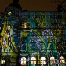 Cheering up Amsterdam with light art in the darkest time of year