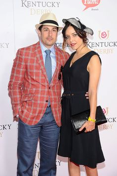 Jenny Mollen tooke the less is more approach but Jason Biggs, well he must have been channelling David Arquette!