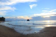 Beautiful sunset in Malaysia