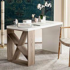 Safavieh Carlene Desk in White