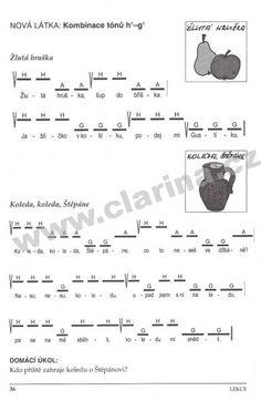 zobcová flétna noty pro děti - Hledat Googlem Sheet Music
