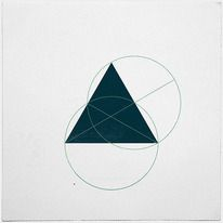 #362 Hidden truths  A new minimal geometric composition each day