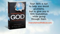 Enter the Overwhelmed by God Book Giveaway, It's Free