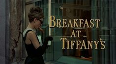 Eat breakfast at Tiffany's, because even though I don't love jewelry, I do love this movie...
