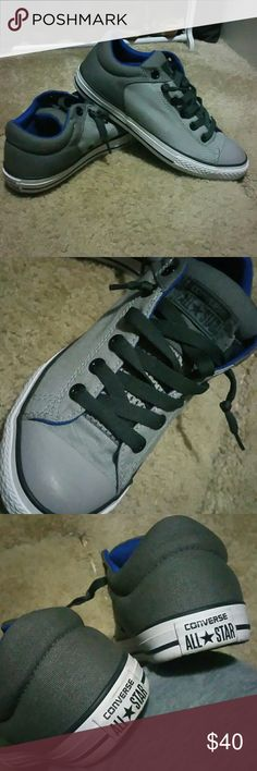 Converse Slip-on Used once.  Low cut. Converse Shoes Sneakers