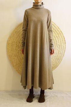Daniela Gregis slouchy turtleneck dress Love this!