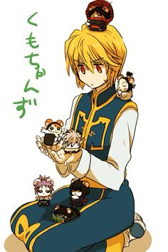 Kurapika!!! And~ the Phantom Troupe!¡ Except they're.... mice?    (Hunter x hunter)