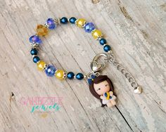 Down Syndrome Awareness bracelet down syndrome by GambizzleJewels