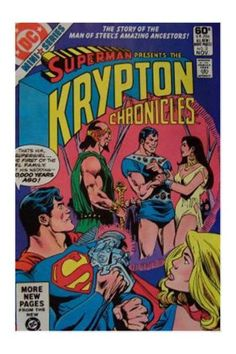 Krypton Chronicles #3 (Nov 1981, DC) - FVF