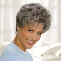 Cancer Patients Wigs, Chemo Wigs, Short Wigs, Black Wigs, Wigs For Women Short Grey Hair, Short Hair With Layers, Layered Hair, Short Hair Cuts, Short Hair Styles, Gray Hair, Thin Hair Haircuts, Short Hairstyles For Women, Wig Hairstyles
