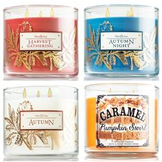bath and body works fall 2014 candles