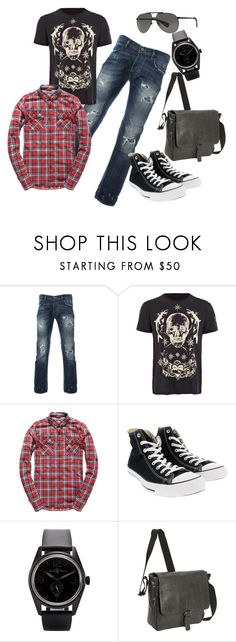 """Estilo Grunge Hombre"" by gabriela-victoria-gallo-boryczewski ❤ liked on Polyvore featuring Alexander McQueen, Superdry, Converse, Bell & Ross, Kenneth Cole Reaction, Dolce&Gabbana, men's fashion and menswear"