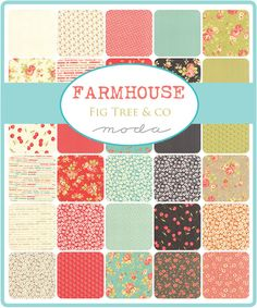 "Farmhouse Fig Tree Quilts Moda 2 CHARM PACKS Quilt Fabric  84   5""  #ModaFabrics"