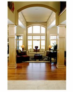 Madison WI Lots Of Curves And Trim In This Spacious Home Designed By Udvari Solner Design Company