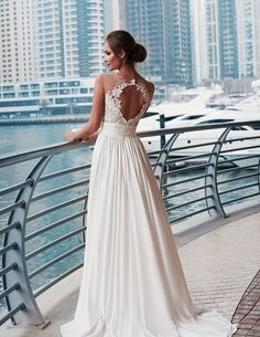 Veda Sensual wedding dress in full line