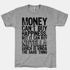 Can Buy Nutella :)