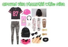 """""""Alround villa phamphili whit: Elisa"""" by allisjess ❤ liked on Polyvore featuring beauty, Aéropostale, True Religion, NIKE, Dsquared2, '47 Brand and Vinca"""
