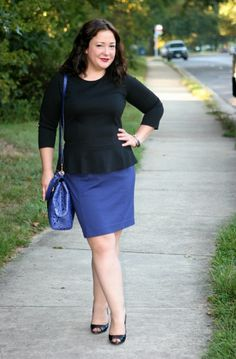 ad36fb0007a Wardrobe Oxygen: Wednesday: Power Peplum. Love this take on the trend!  Executive