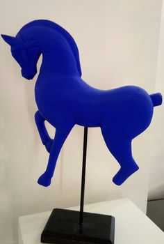 François Rambaud, Cheval Etrusque bleu