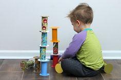 Manualitats amb tubs de cartró. Fem i juguem ! / @totnens #femijuguem #manualitatstubscartro