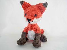 Ravelry: Fredrick the Fox Amigurumi pattern by Ida Herter