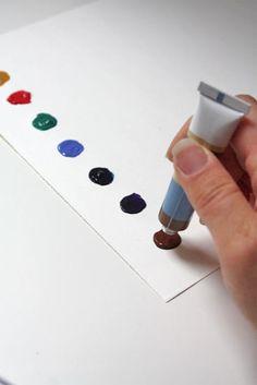 make watercolor painting paper