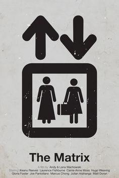 Pictogram movie posters by Viktor Hertz