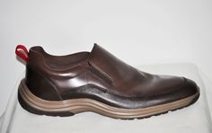 Cole Haan Men Tucker Grand Chestnut Slip On Loafers Dress Shoes size 10 NIB #ColeHaan #Gore
