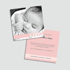 GEBURT Geburtskarte Livio