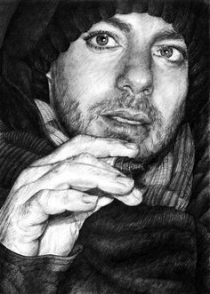 #MARSart   Awesome drawing of @ShannonLeto made by Daria.