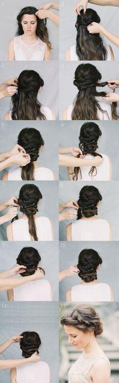 Peinados - Hairstyles - Best Hairstyle Tutorials For Everyday - Fashion Diva Design