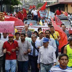 Ecuador | Al menos 15 capitales de provincias participarán en la marcha laboral de esta tarde.