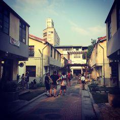 聚落正在構建小確切轉變成大商機的過程需要什麼呢 #traveling #taiwan#台中 #審計新村