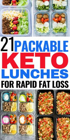 21 packable keto lunches for rapid fat loss! These keto lunch and ideas are THE BEST! Now I can take my packable lunchs to work for the week and contine eating well to lose! #keto #ketodiet #ketogenicdiet #ketodiet #packablelunch