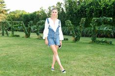 The Olivia Palermo Lookbook : Olivia Palermo at Revolve Party in the Hamptons