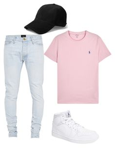 """""""Untitled #197"""" by camibg on Polyvore featuring Polo Ralph Lauren, Fear of God, rag & bone, NIKE, men's fashion and menswear"""