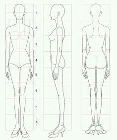 Fashion Drawing Template   Pinterest   Fashion drawings, Fashion ...