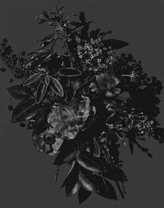 Dark Florals.