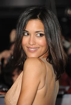 Julia Jones at the Twilight: Breaking Dawn Part 2 Premiere 11/12/12. Hair by Gio Campora. Makeup by Jamie Greenberg. Styling by Anita Patrickson.
