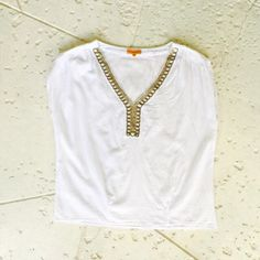 A personal favorite from my Etsy shop https://www.etsy.com/listing/230030838/white-gauze-embellished-tunic-top-by