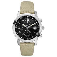 Guess U11650G1 Chronograph horloge (Goedkoopste prijs + Gratis verzending) | Guess horloges