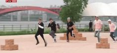Min Yoongi was so fast my eyes couldn't keep up OMG! Give me his legs PLEASE! U Go SUGAH U ain't MOTIONLESS HAHA ❤ #BTS #방탄소년단 on Running Man.