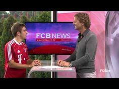 FOOTBALL -  #FCBNews am 28.06.2013: Zu Gast - Philipp Lahm - http://lefootball.fr/fcbnews-am-28-06-2013-zu-gast-philipp-lahm/