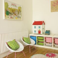 Family living room with children's play area | Family living room ideas | Living room | Design | PHOTO GALLERY | Housetohome.co.uk