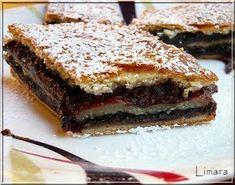 Limara péksége: Mákos zserbó Hungarian Recipes, Hungarian Food, Winter Food, Tart, Food To Make, French Toast, Sandwiches, Bakery, Muffin