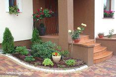predzáhradky inšpirácie - Hľadať Googlom Side Yard Landscaping, Backyard, Patio, Home Projects, Gardening Tips, Beautiful Flowers, Diy And Crafts, Flora, Sweet Home