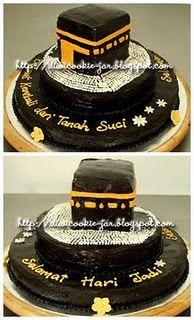 Kaa'ba cake-wow!cool different idea